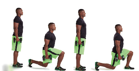 Walking-Lunges-with-Dumbbells